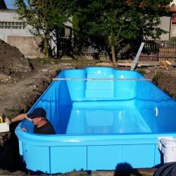 Levné zapuštěné bazény