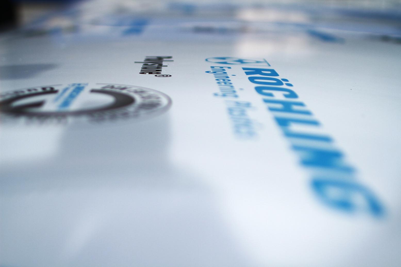 Materiál pro výrobu plastových bazénů - Rochling