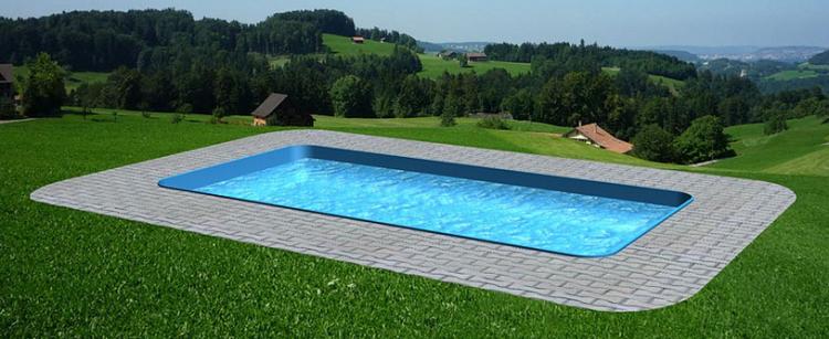 Zvýhodněný bazénový set 8 - velký obdélníkový bazén