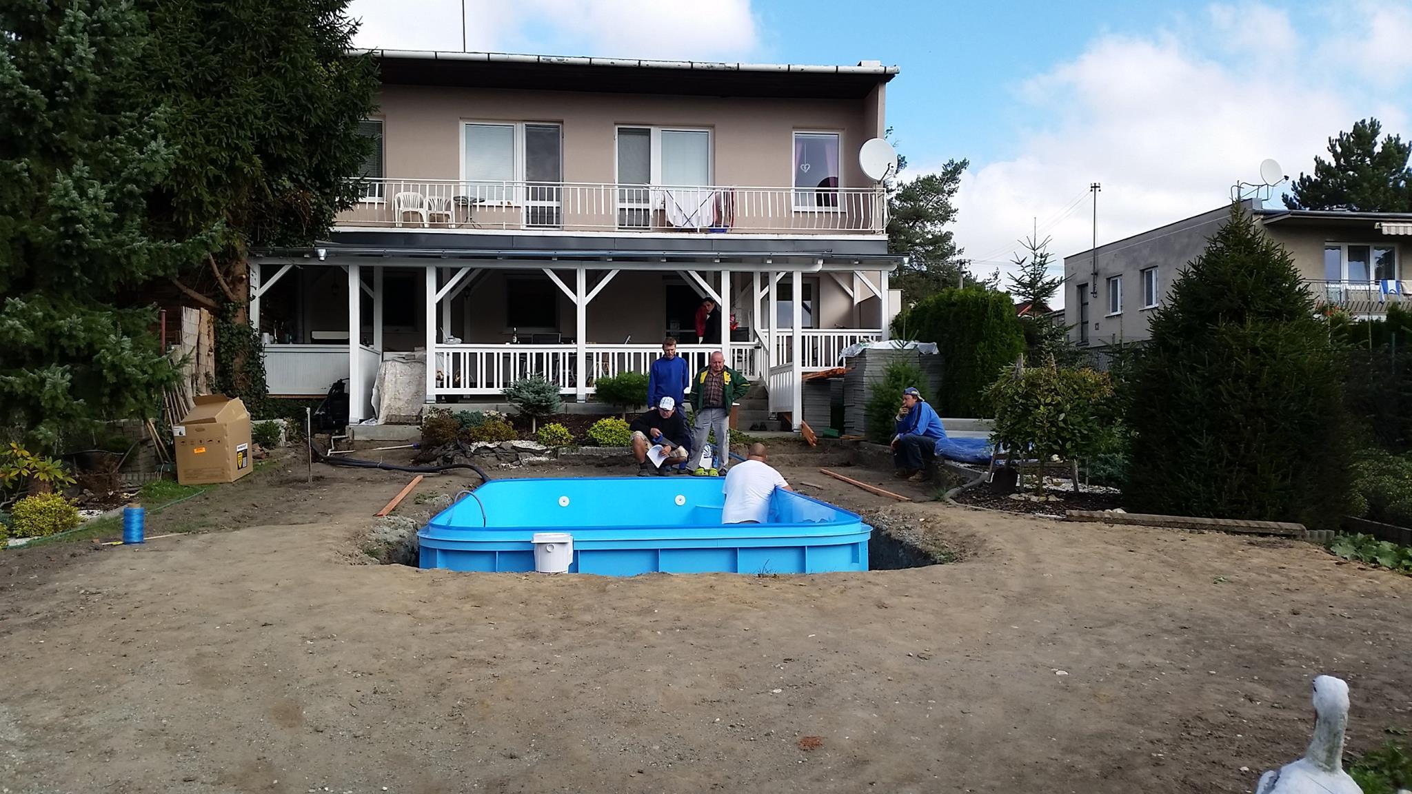 Plastový bazén - Bazény-výroba